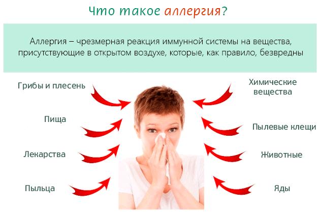 Міфи про алергію